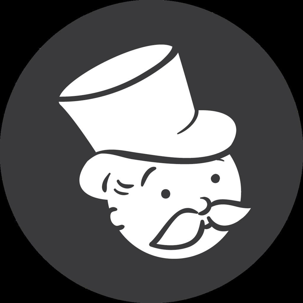 Monopoly, grey icon