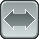 switch, Arrows DarkGray icon