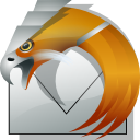Orange, Thunderbird DarkGray icon