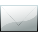 Email, envelope DarkGray icon