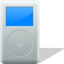 ipod, mount Silver icon