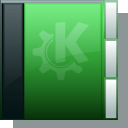 Folder, green DarkSlateGray icon