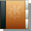 Folder, Orange DarkSlateGray icon