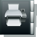 printer, Book DarkSlateGray icon