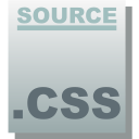 Css, Source DarkGray icon