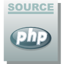 Php, Source DarkGray icon
