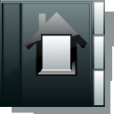 Home DarkSlateGray icon