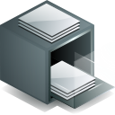 Drawer DimGray icon