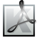 Kpdf DarkGray icon