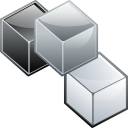 Modules, Boxes DarkGray icon