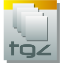 Tgz DarkGray icon