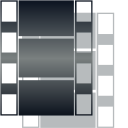 film, video, movie DarkSlateGray icon