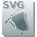 svg, vector, graphics DarkGray icon