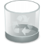 Emptytrash DarkGray icon