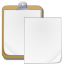 paste, Clipboard WhiteSmoke icon