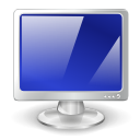 monitor, screen, Computer MidnightBlue icon