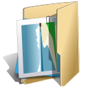 package, graphics NavajoWhite icon