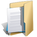 wordprocessing, package NavajoWhite icon