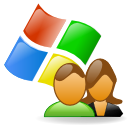 Users, windows SaddleBrown icon