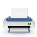 Print, printer WhiteSmoke icon