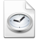 temporary, File, time, Clock Snow icon