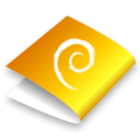 Folder, yellow Black icon