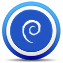 khelpcenter, Debian RoyalBlue icon