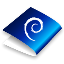 Folder, Debian Black icon