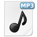 File, mp3, music WhiteSmoke icon