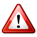 warning, important, Attention, test Black icon