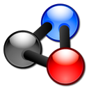 Kalzium Black icon