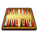 kbackgammon, Game Black icon