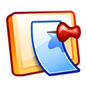 Clipboard, paste, document Black icon