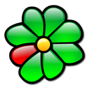 icq, Flower Black icon