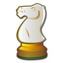 horse, package, chess, Games, strategy Gainsboro icon