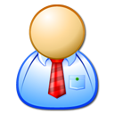 employee, Man, user, Administrator, male, manager, Personal, operator LightSkyBlue icon