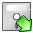 mount, 5floppy LightGray icon