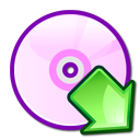 Cdwriter, mount LavenderBlush icon