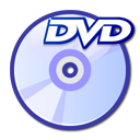 Dvd, unmount Lavender icon