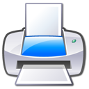 printer Lavender icon