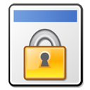 locked, File WhiteSmoke icon