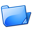 Blue, Folder, open DodgerBlue icon