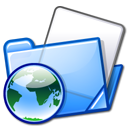 Blue, Folder, html, Folders LightSkyBlue icon