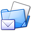 Folder, mail Lavender icon