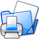 Print, documents, Folder Lavender icon
