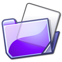 Folder, violet Lavender icon