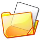 Folder, yellow Khaki icon