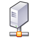 Hosting, Computer, Server Silver icon