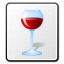 Alcohol, wine, Exec WhiteSmoke icon