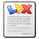 Lyx, mime WhiteSmoke icon